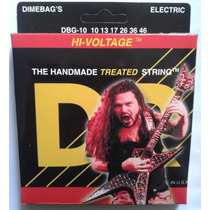 Cordas Dr Strings Dimebag Darrell Set 0.10/0.46