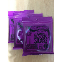 3 Sets Encordoamento Ernie Ball Guitarra 011 2620 7 Cordas