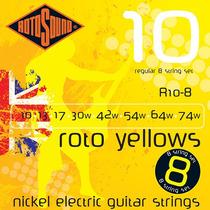 Encordoamento Guitarra Rotosound R8 .010/.074 - 8 Cordas
