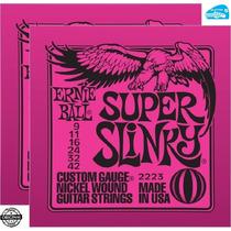 Cordas 009 Ernie Ball Guitarra 2223 2 Sets + Brinde Promoção