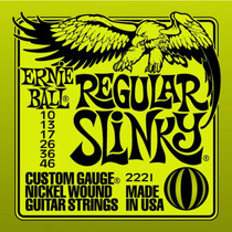 Cordas Ernie Ball 010 046 P/ Guitarra 2221 Original