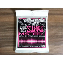Encordoamento Ernie Ball 2923 M-steel Super Slinky 0.09
