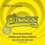 Encordoamento P/ Contra Baixo 4 Cordas Gs6 Groove .040 .095