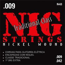Encordoamento Corda 009 Nig Traditional Class Guitarra N63