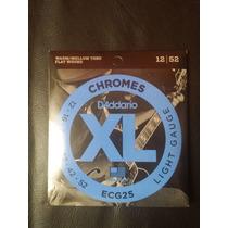 Encordoamento Daddario Chromes 012 Flat Jazz