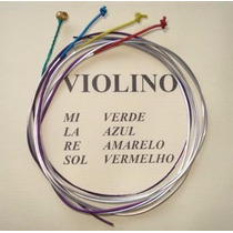 Encordoamento Cordas Violino Mauro Calixto !!! Frete 7,00