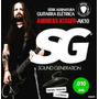 Encordoamento 010 Sg Guitarra Andreas Kisser 6670 - 5 Sets