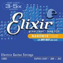 Jogo De Cordas Guitarra 009 Elixir Nanoweb 12002 Original
