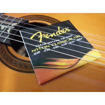 Cordas Nylon Violão - Fender Original - Classical 100