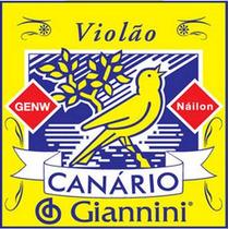 Cordas Para Violão Náilon Canário Giannini (encordoamento)