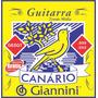 Encordoamento Giannini S.canario Para Guitarra 0.9 Caixa