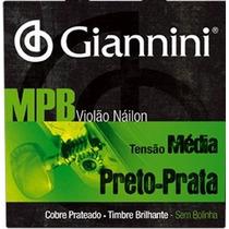 Cordas P/ Violão Giannini Náilon Encordoamento Jogo 6 Cordas
