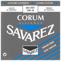 Encordoamento De Violão Savarez 500 Aj Nylon - 009237