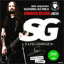 Cordas Encordoamento 010 Sg P/ Guitarra 6670 Andreas Kisser