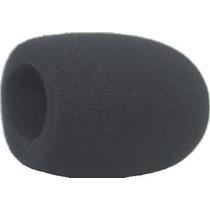 Espuma Microfone Padrão Sm 58 T Black (kit Com 10 Espumas)