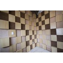 Placas Acústicas De Alvenaria Para Estúdio Ou Isolamento