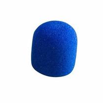 Espuma Anti Puff Azul Para Microfone Mao Csr Gm515
