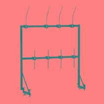 Frete Grátis Pearl Ptr-1824 Rack Para Cowbell E Blocos
