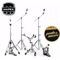 Kit Ferragens Barteria Mapex Mars 600 Chrome 5 Peças L O J A