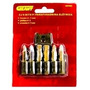 Jogo De Bits P/parafusadeira Elétrica Geant Gnt025 - 6 Pçs