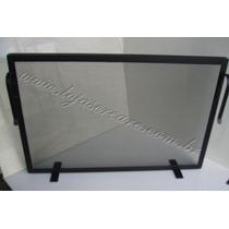 Tela Para Proteção - Grade Para Lareira 70x50 Ferro Preto