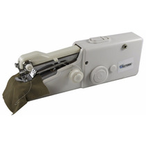 Mini Máquina Costura Manual Portátil A Pilha Roupas Western