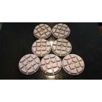 7 Lixas Diamantadas Premium Piso Mármores Granitos Concreto