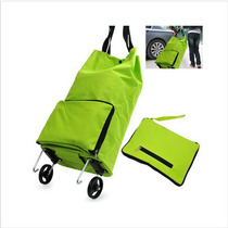 Home Furnishing Portable Foldable Trolley Bag Shopping Bag
