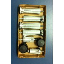 Pé De Aluminio Kit Cama Box