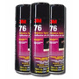 Adesivo Cola Spray 76 Tapetes - Carpetes - Laminados - 3m