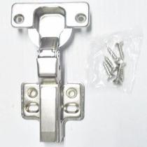 Dobradiça Para Armários Caneco 35mm Sem Click + 6 Parafusos