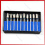 Kit Brocas Odontologicas Tungstenio 10pc - Maxcut E Minicut