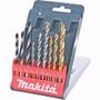 Jogo De Broca Makita P/ Concreto Metal Madeira D-08660 16466