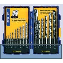 Kit De Brocas Em Aço Rápido Para Metais 15 Peças - Irwin