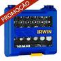 Jogo De Pontas P/ Parafusadeira 58 Peças Irwin 1865330