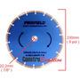 Disco Diamantado Segmentado 9 Pol 230mm Para Cortar Concreto