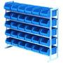 Gaveteiro Estante Com 30 Gavetas Bins Organizador Resistente