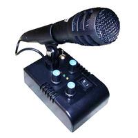Mic De Ganho-microfone De Mesa Mc-3x C/eco Para Px-py-hf-vhf