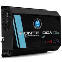 Fonte Automotiva Digital Jfa 100a Carregador Bateria Bi-volt