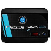 Fonte Carregador Bateria Digiatl Jfa 100a Bivolt Automatico