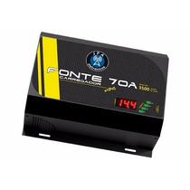 Fonte Som 70a Bivolt Jfa Turbo Carregador Bateria P/ Modulo