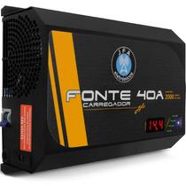 Fonte Carregador Bateria Automotiva Jfa 40a 2000w Automatica