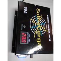 Fonte 60a 24v Bi-volt Automatico