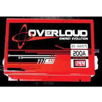 Fonte Automotiva Overloud 200a C/ Voltímetro - Som - Bateria