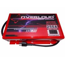 Fonte Automotiva Overloud 250 A Bivolt Carreg. Bateria Som