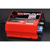 Fonte Automotiva Digital Overloud 70a Bivolt C/ Voltimetro