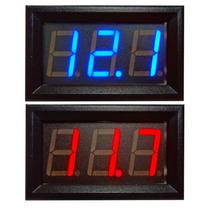 Voltímetro Digital Automotivo 4,5~30v Bateria Função Remote