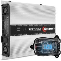 Kit Fonte Taramps Tef 100a + Voltímetro Taramps Vtr 1200