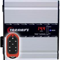 Fonte Taramps Tef-120 A Voltimetro + Controle Tlc-3000