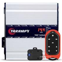 Fonte Automotiva Taramps 120a Voltímetro + Controle Tlc3000